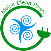Maine Clean Power logo.